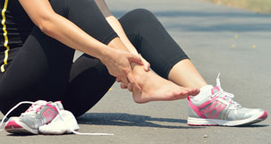 Acute ankle injuries ankle sprains and fractures