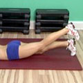 Prone straight leg raise
