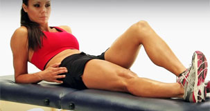 Early stage knee exercises