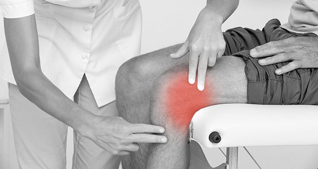 Lateral knee pain on the outside of the knee