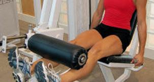 VMO rehab leg extension exercise