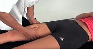 Thigh strain diagnosis
