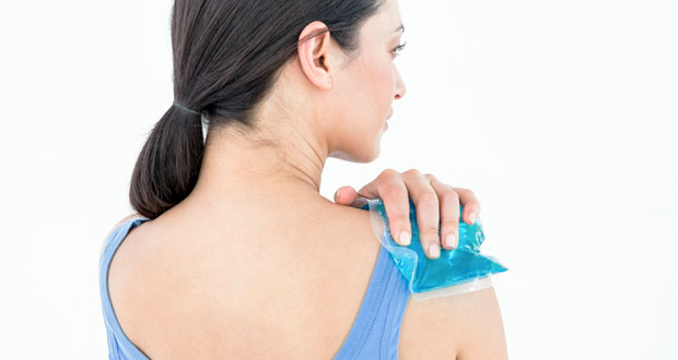 First aid for shoulder injuries