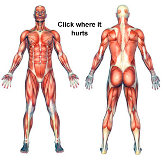 Virtual Sports Injury Clinic - Click where it hurts!