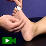 blister taping video