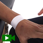 quick wrist taping video