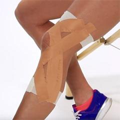 MCL sprain taping