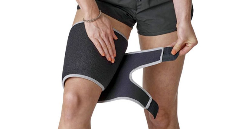 Immediate First Aid for Thigh Injuries - Sportsinjuryclinic net