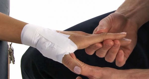Thumb sprain