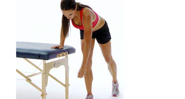 Pendulum shoulder exercises