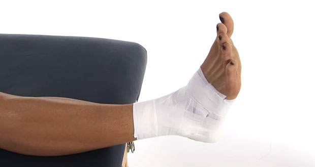 Ankle Sprain Taping