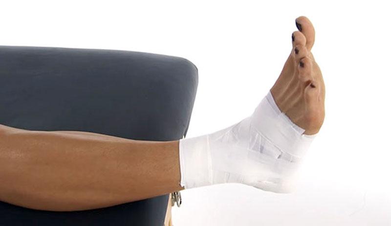 Ankle Taping Video Figure Of 8 Basketweave Heel Lock