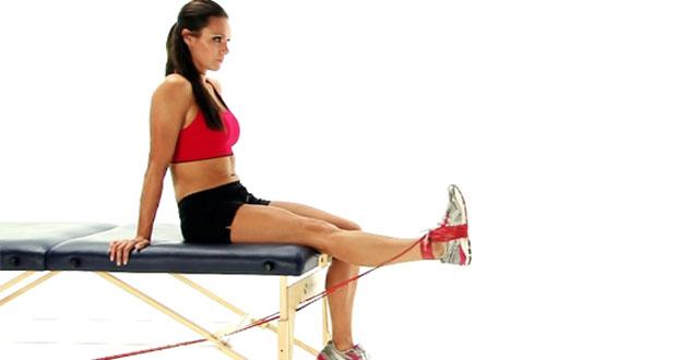 Thigh strain rehabilitation exercises
