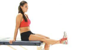 Thigh strain exercises