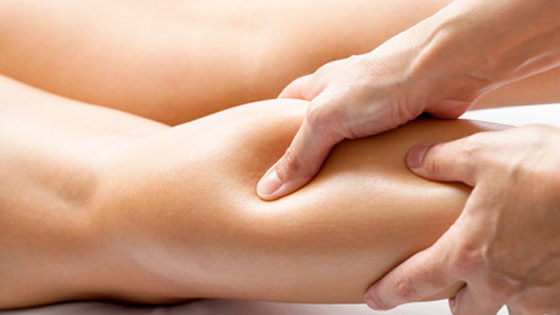 Calf strain massage