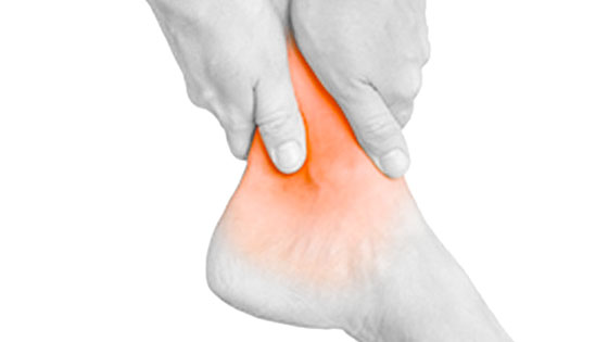 Inside ankle pain