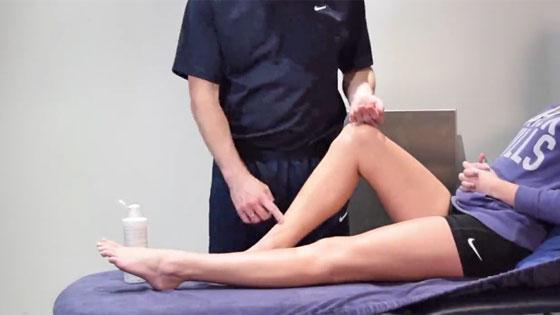 Shin splints sports massage