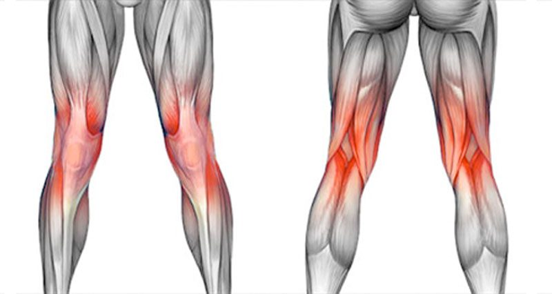 Knee pain and knee injuries