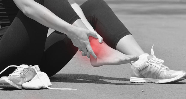 Outside ankle pain