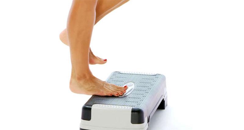 Achilles heel drop exercise