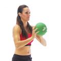 Shoulder medicine ball exercise