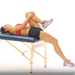 Thomas test for hip flexors