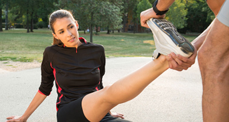 Tight calf muscles - benefits of stretching