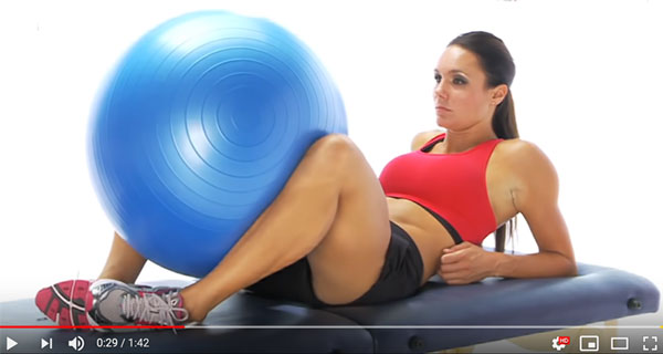 Groin strain exercises video