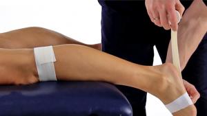 Achilles tendon taping