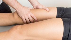 Groin strain massage