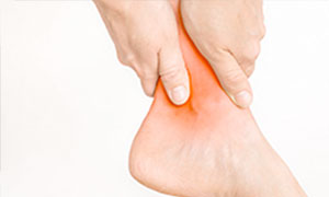 Medial ankle pain