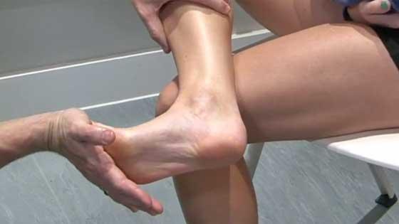Plantar fascia stretching