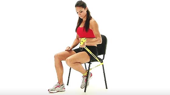 Prolonged knee flexion