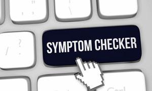 Sports injury symptom checker