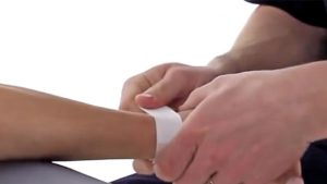 Wrist strapping and taping