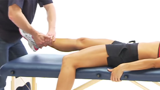 Groin strain exercise eccentric adduction