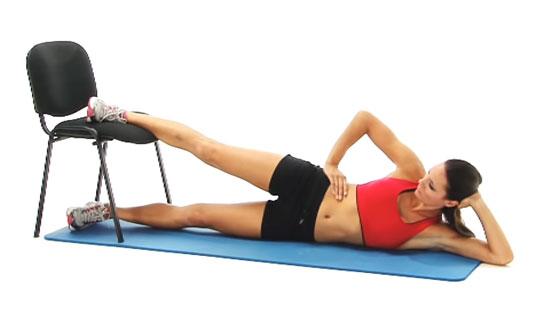 Groin strain exercise