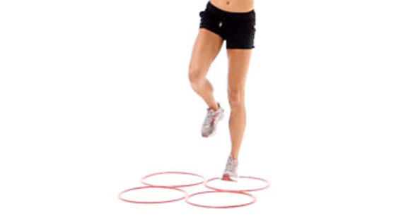 Hopping plyometric exercises