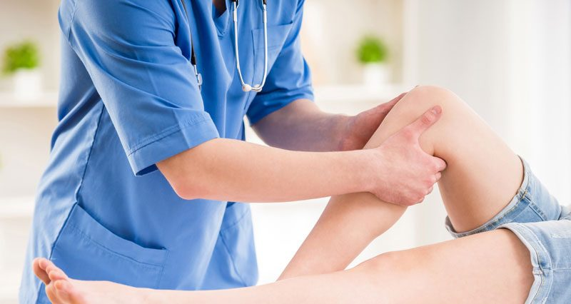 Knee doctor assessment