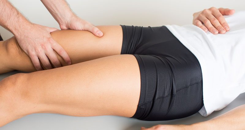 Thigh strain assessment