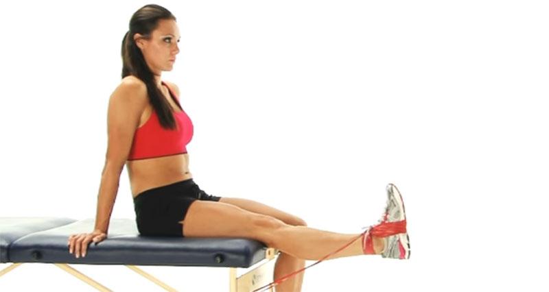 Thigh strain rehabilitation
