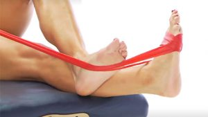 Tibialis posterior strengthening exercise