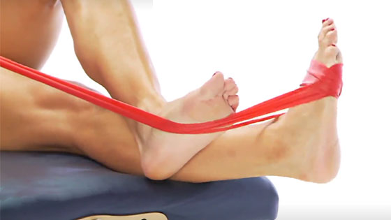 Tibialis posterior strengthening exercise
