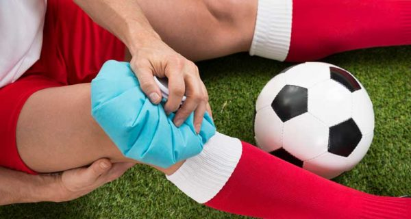 Benefits of cold therapy footballer