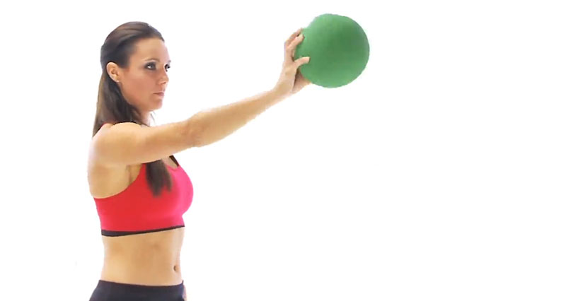 Dislocated shoulder exercise