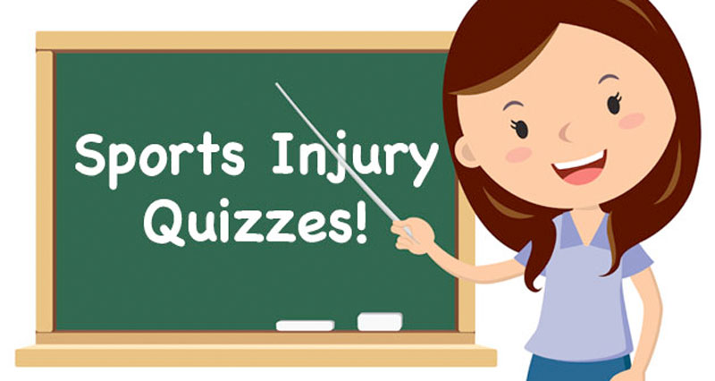 Sports Injury Quizzes