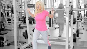Menopause weight training