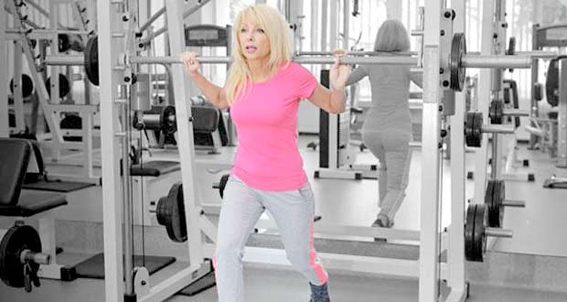 Menopause weight training