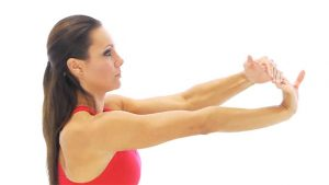 Wrist flexor stretch - golfer's elbow