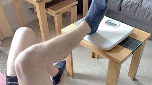 Hamstring strength test